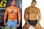Fotos pornô de Alexandre Frota pelado na revista g magazine.